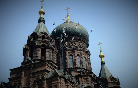 Sofia church in Harbin China