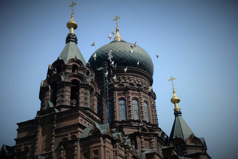 Sofia church in Harbin China