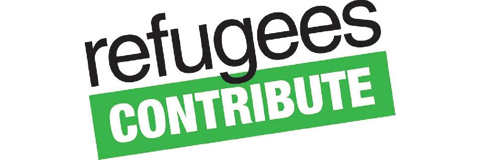 Refugees contribute