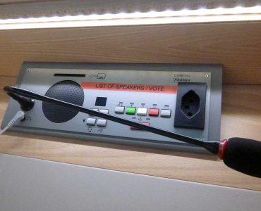 UN speaker phone