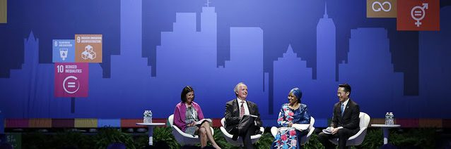 Panel at UN Global Compact Leaders Summit 2017