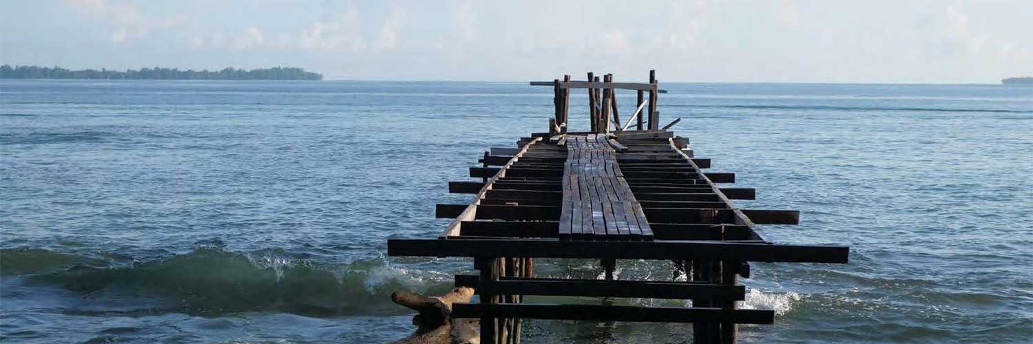 Jetty on Manus Island