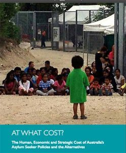 Front cover of At What Cost report