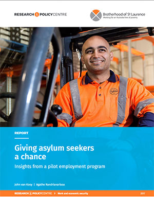 Cover of Giving asylum seekers a chance