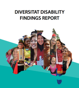 Cover of Diversitat Disability Findings report