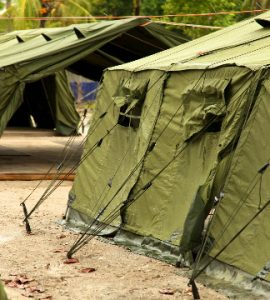 Tents in Manus Island regional processing centre
