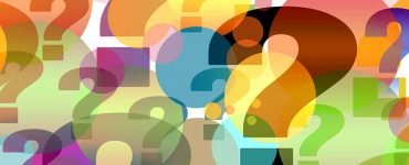 Colourful question marks
