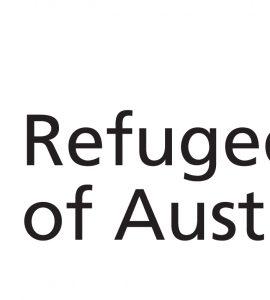 Colour logo of Refugee Council of Australia