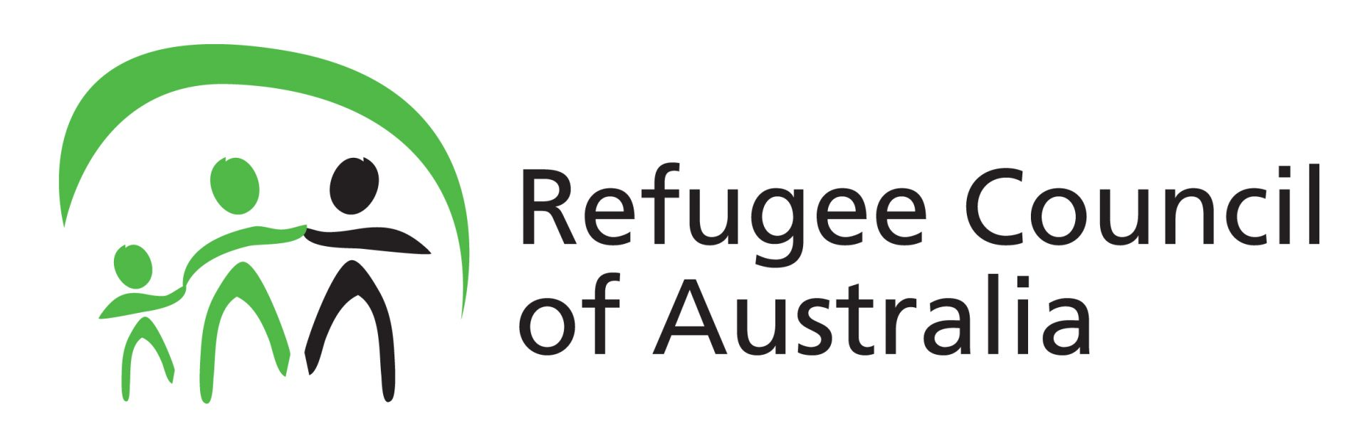 Colour logo of Refugee Council of Australia