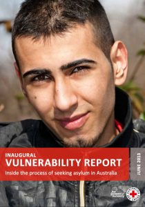 Front cover of Vulnerability report