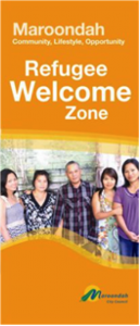 Maroondah Refugee Welcome Zone poster