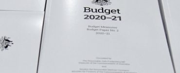 Covers of Budget 2020 pages