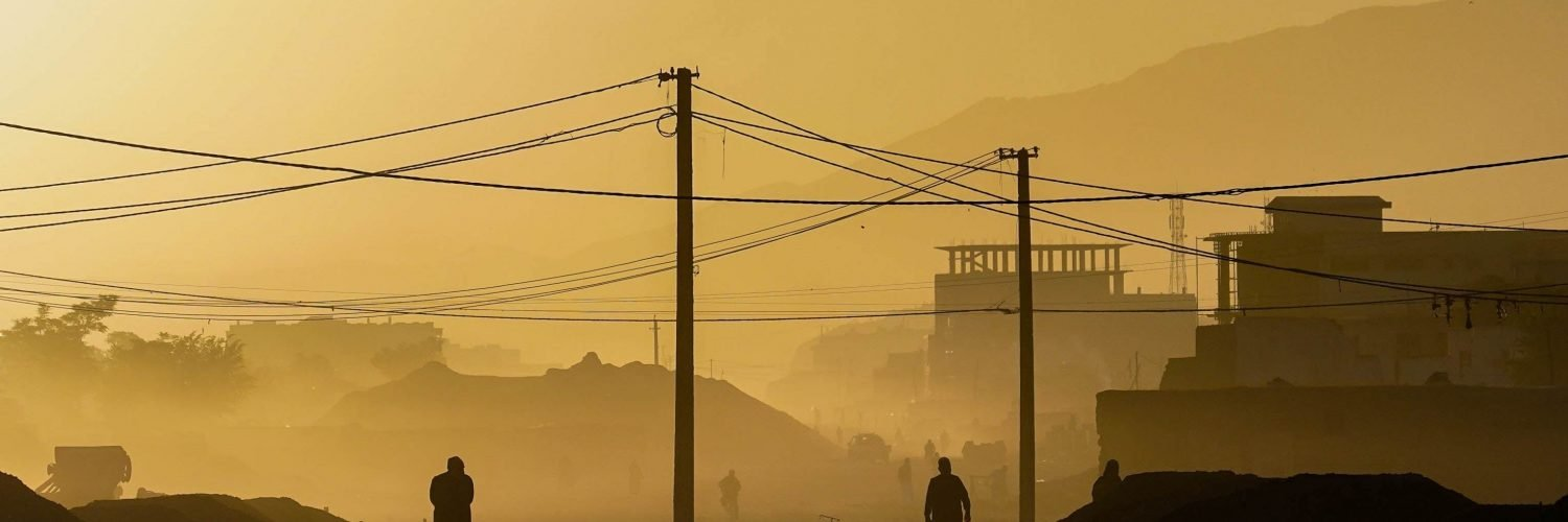 Morning in Kabul, Afghanistan
